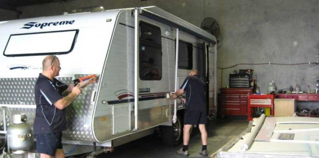 Caravan Repairs and Techniques